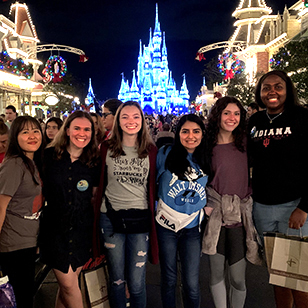 Students enjoyed a backstage look at the technological wonder of Disney.